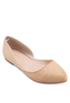 D'Orsay Pointed Ballerinas