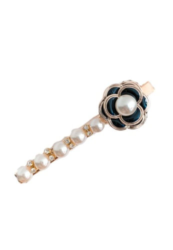 Kings Collection gold Faux Pearl Hairpin (UPHA20181) 363CEACA59892CGS_1