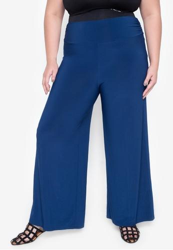 Curvy blue Plus Size Ezmae Pants CU774AA20ETRPH_1
