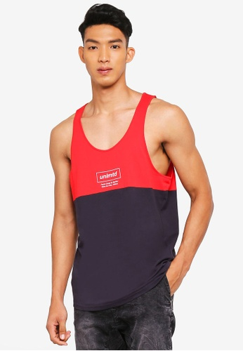 Cotton On red and multi and navy TBar Tank Top 2CCCAAABB2B9B3GS_1