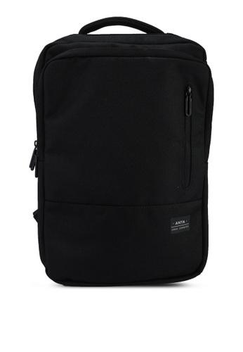 Anta black Urban Commuting Backpack 3C449AC12E847EGS_1