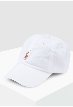 215a716e69f0da Polo Ralph Lauren white Cotton Chino Sports Cap 6B173AC0C96F6AGS_1