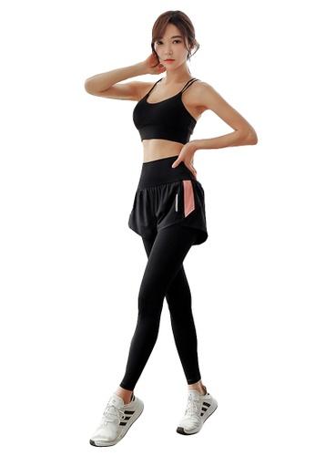 YG Fitness multi (2PCS) Quick-Drying Running Fitness Yoga Dance Suit (Bra+Bottoms) 5ED10US798F52CGS_1