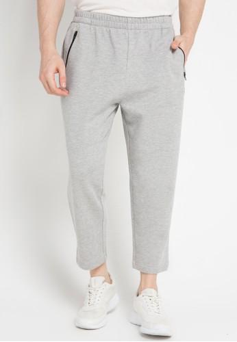 3SECOND grey Men Long Pants 3S395AA0VURZID_1