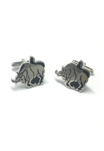 Splice Cufflinks silver Horoscope Taurus Cufflinks   SP744AC09DNQSG_1