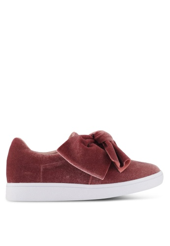 Something Borrowed pink Bow Slip -ons 060E7SHAF657D1GS_1