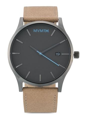 MVMT brown MVMT Classic Watch - Gunmetal Sandstone MV187AC0SZQVMY_1