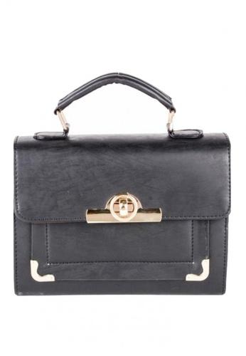 House of Bai black Candy Leather Satchel Shoulder bag HO716AC0JI1PPH_1