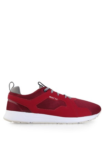League red Vault 2.0 Sneakers LE825SH75PWMID_1