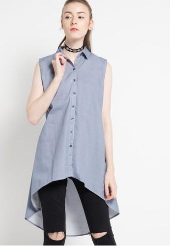 RODEO blue Blouse Shirt RO332AA51DJKID_1