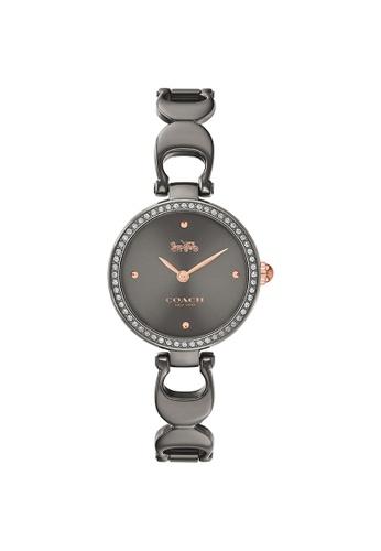 Coach grey Coach Park Grey Women's Watch (14503565) FEDA0ACB2075EEGS_1