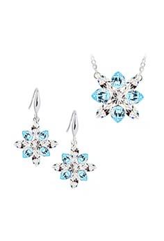 Frozen Austrian Crystal Accessories Jewellery Sets (Blue)