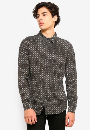 Cotton On black 91 Shirt BA1F6AAC7B651CGS_1