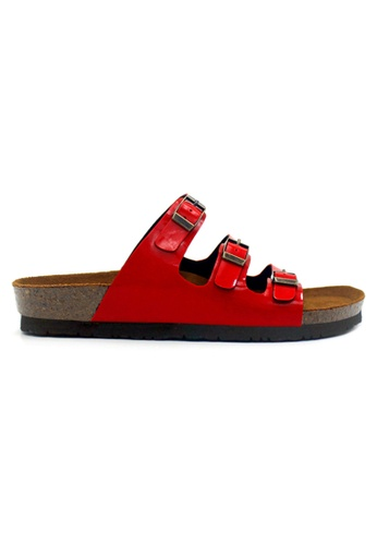 SoleSimple red SoleSimple Ely - Glossy Red 62D2ESH434FF04GS_1