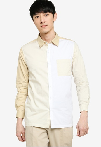 ZALORA BASICS 多色 Multicoloured Long Sleeve Shirt EE4CDAA0EF2600GS_1