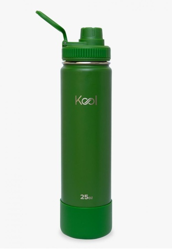 Kool PH green 25 oz Insulated Stainless Steel Water Bottle With Silicone Boot D1542ACB31D779GS_1