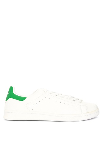 Andy Z green Men's Lace-up Low-cut Sneakers 036B5SH8C86513GS_1
