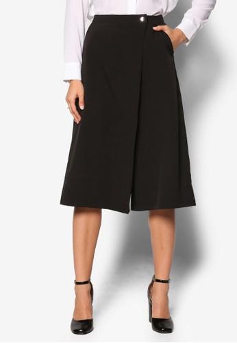 Collection 簡約寬管五分褲、 服飾、 長褲及內搭褲ZALORACollection簡約寬管五分褲最新折價