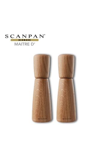 SCANPAN SCANPAN Maitre D' 18cm Salt & Pepper Mill Set C0FFDHL9F7D5D5GS_1