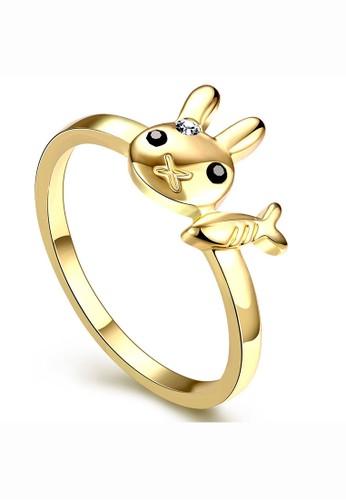 Jual Tiaria Tiaria Popular Ring AKR075 A 8 Gold Coated