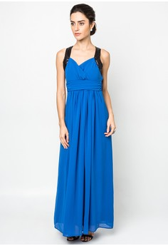 Angelou Halter Dress