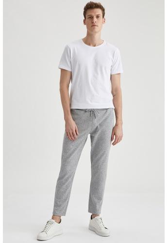 DeFacto grey Slim Trousers 5213BAA242A31CGS_1