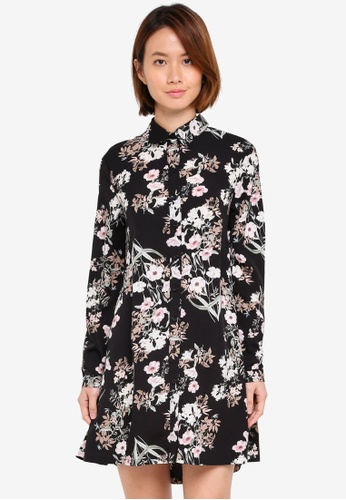ZALORA multi Shirt Dress 33106AAC29A711GS_1