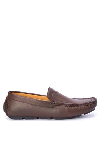 H2Ocean brown Nabor Shoes H2527SH0K3E5PH_1