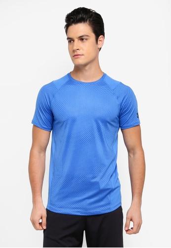 Under Armour blue Raid 2.0 T-Shirt UN337AA0SU5TMY_1