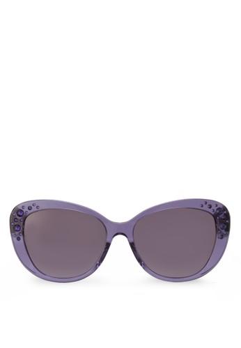 Rock Icons 閃飾太陽眼鏡, 飾品配件, 貓眼esprit outlet台北框