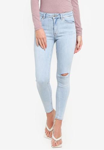 H&M blue Skinny Regular Jeans 08AE9AA45FC315GS_1