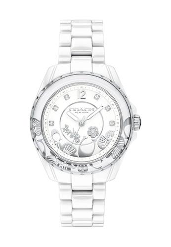 Coach white Coach Preston White Women's Watch (14503464) 386E9ACBCCF509GS_1