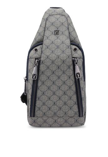 Playboy blue Playboy Chest Bag F785FAC1EBD15DGS_1