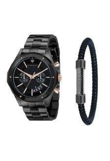 e960793dbddd Circuito Quartz Watch R8873627001 Grey Metal Strap + Leather Stainless  Steel Bracelet JM05 B64EFAC65979C3GS 1 Maserati ...