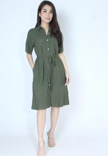 Gera green Gera baju tunik / terusan katun premium busui and bumil friendly Gr-0421-07 F2ACDAA2EE99A4GS_1