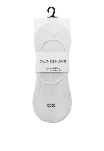 Calvin Klein multi CK 2PR Cotton Liner Socks 7C54BAAA57AFA1GS_1