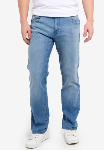 OVS blue Young Comfort Fit Stretch Denim Jeans 7EBB0AA5AAFF10GS_1