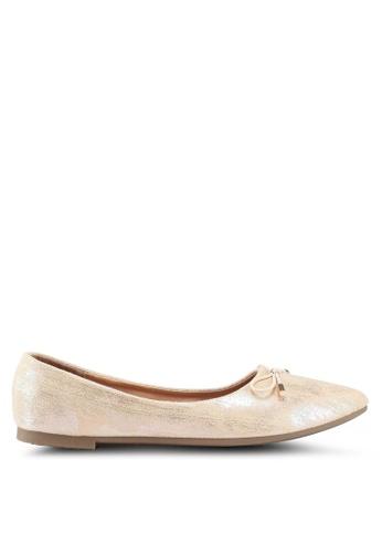 Noveni 米褐色 彩虹平底鞋 1BDF5SH00B7539GS_1
