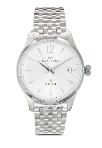 816.661 ST2130 40mm 不銹鋼機械鍊錶, 錶類, 飾esprit outlet hk品配件