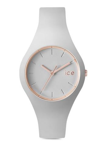Ice Glam 矽膠小圓錶, 錶類,zalora 評價 休閒型
