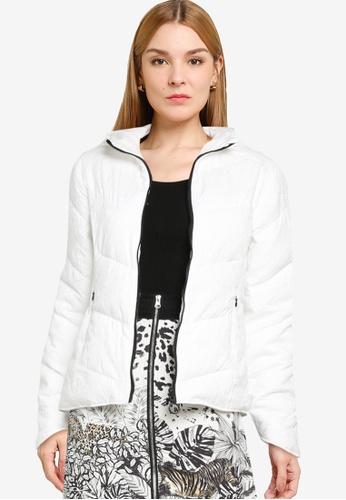 Desigual white Padded Mandala Jacket 62E85AA689CE49GS_1