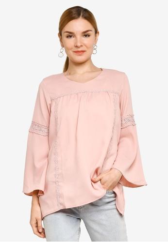 BYN pink Muslimah Blouse ED246AAA4CBDEEGS_1