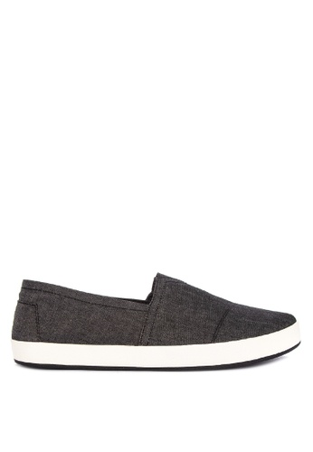 TOMS black Avalon Slip-on 4082DSHB106399GS_1