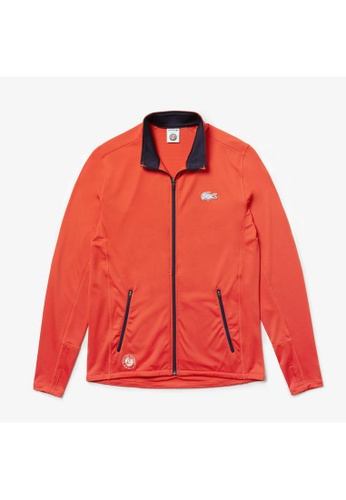 6f152fe182 Men's Lacoste SPORT French Open Edition Stretch Tech Zip Jacket - SH7402-10