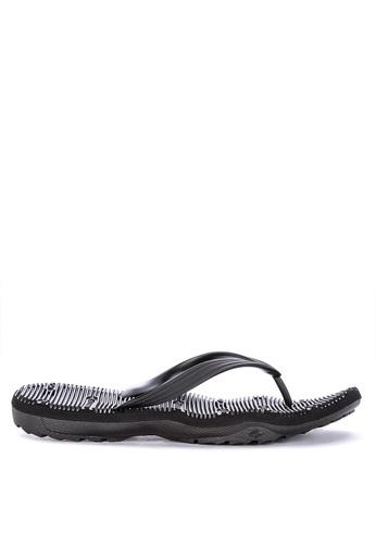 Krooberg black Contour 9 Flip Flops 0A8FDSH3590558GS_1