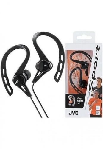 JVC black JVC HA-ECX20 Inner Ear Headphones for Running -BLACK F22D5ES9722765GS_1