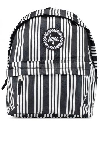 Buy Just Hype Vinyl Stripe Backpack Online on ZALORA Singapore b5d796ae83b9f