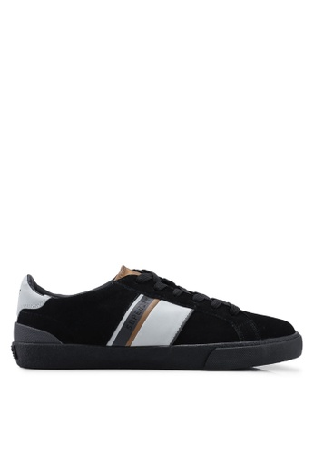 Superdry black Vintage Court Retro Trainers F23A1SHA337304GS_1