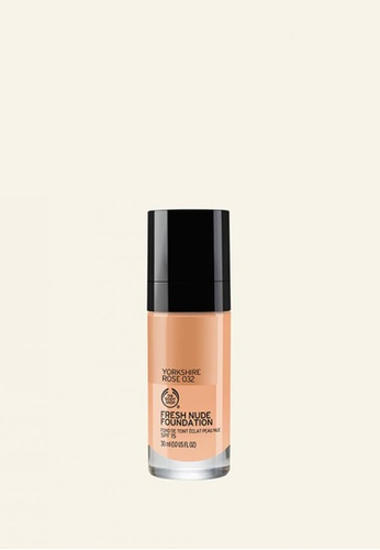 The Body Shop FRESH NUDE FOUNDATION - 032 YORKSHIRE ROSE 80FF9BE6D8CDC2GS_1