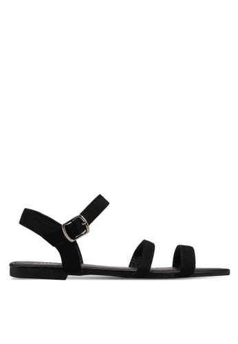 Rubi black Everyday Millie Strappy Sandals 18A35SH4DFF5A3GS_1
